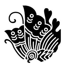 揚羽蝶家紋。