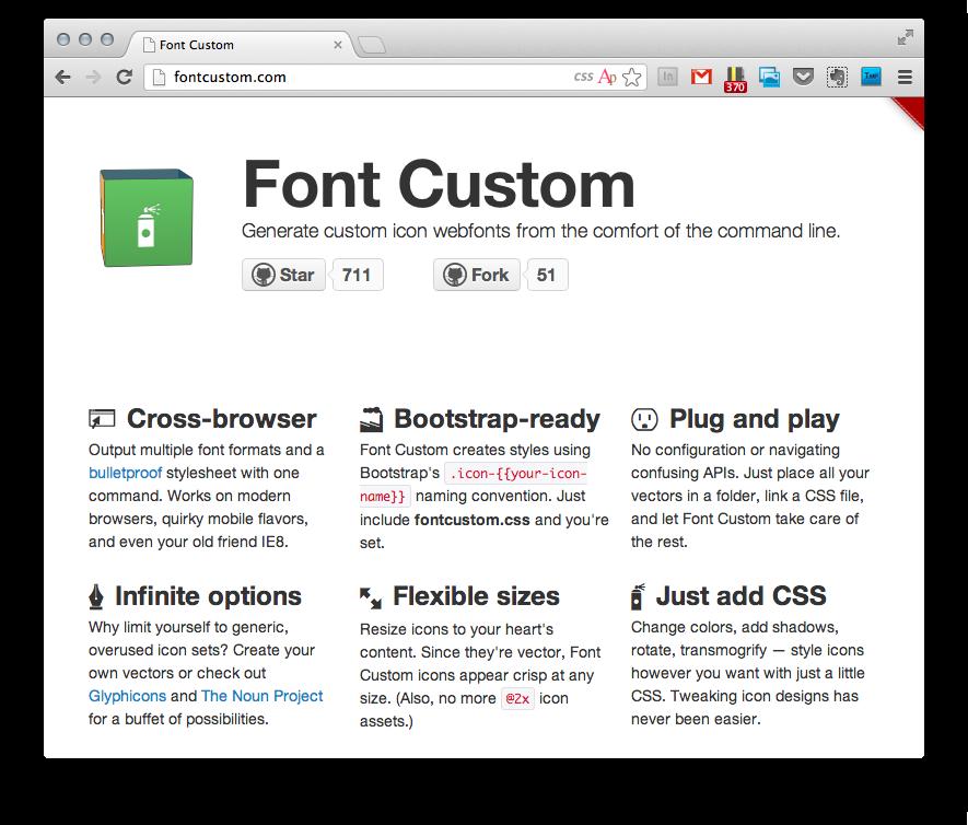 Font Custom